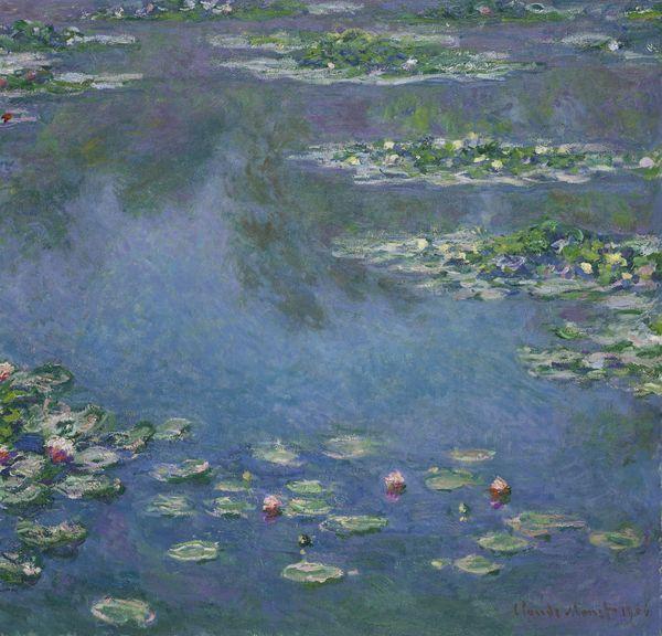 Les Nymphéas, Claude Monet