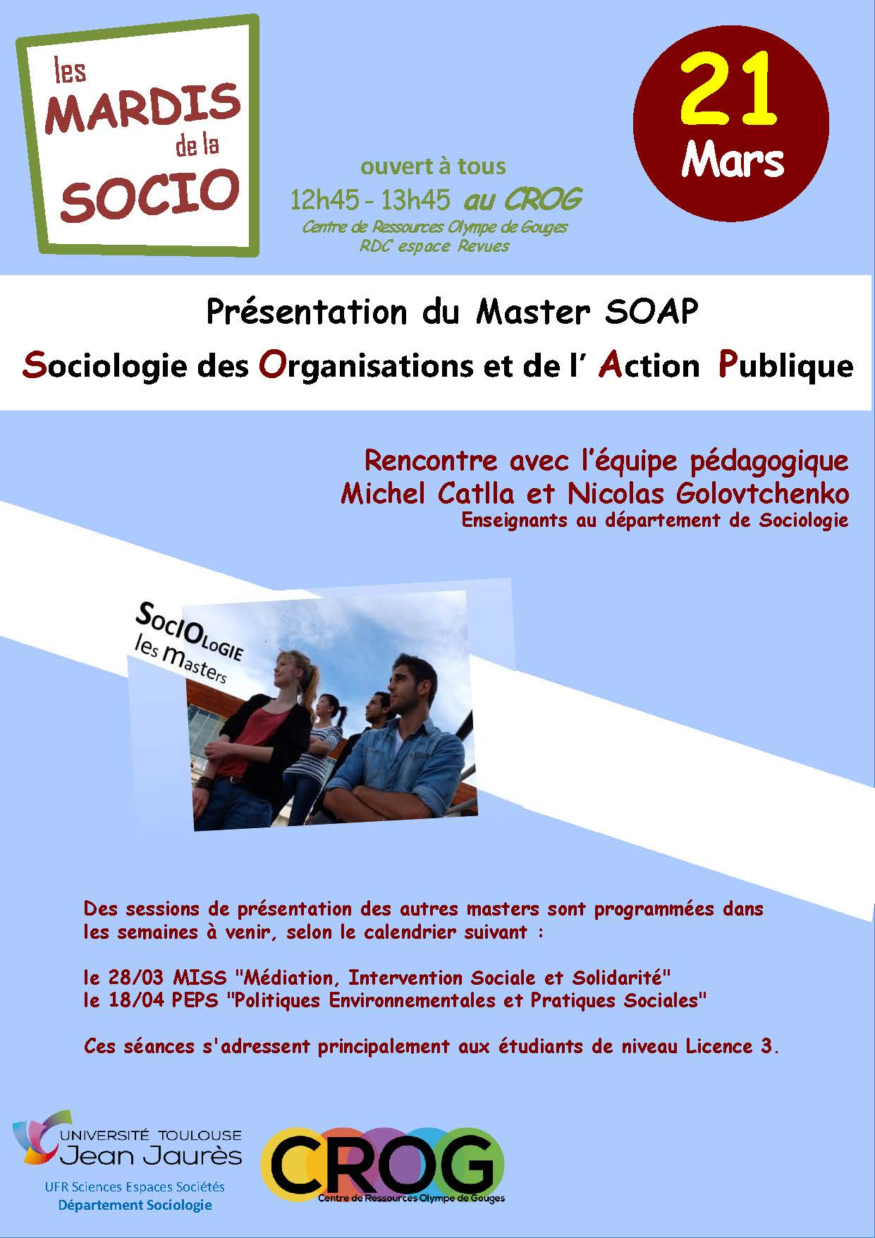 Affiche de la conférence