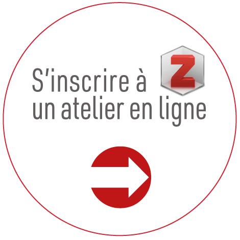 S'inscrire à un atelier Zotero en ligne