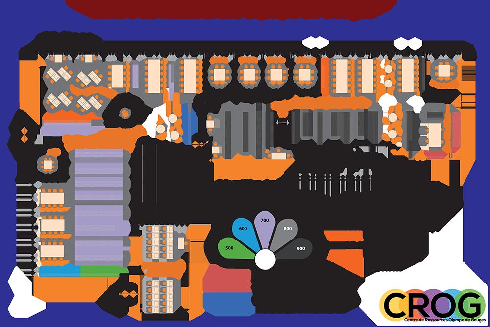 Plan du CROG étage