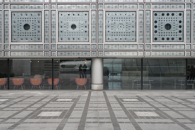 Institut du Monde Arabe par www.haaijk.nl. CC BY-NC-ND. Source : Flickr