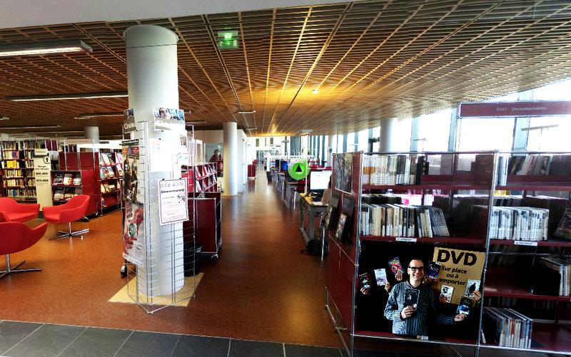 Visite virtuelle Centre de ressources des langues (CRL)