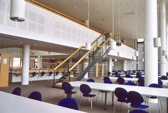 BUC, Salle de lecture, 3ème étage