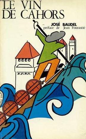 """page de couverture du livre """"Le vin de Cahors"""""""