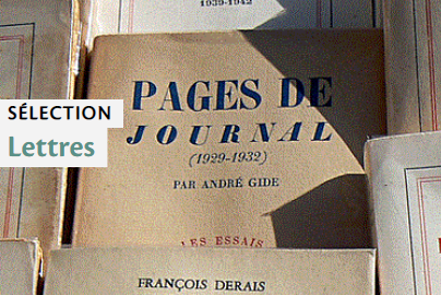 Sélection Lettres - Photo : Books par christing-O CC BY-NC