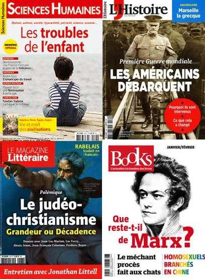 Cairn magazines - copie écran
