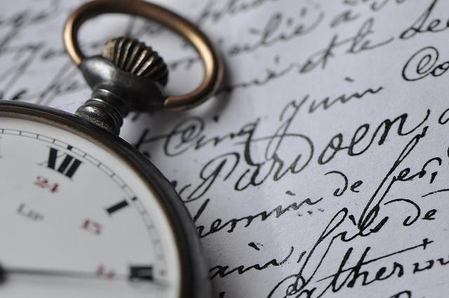 Montre du temps écoulé par MPhotographe. CC BY-NC-ND. Source : Flickr
