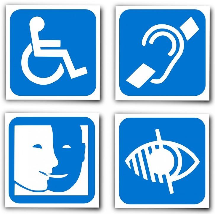pictogrammes handicaps