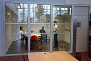 salle de travail en groupe