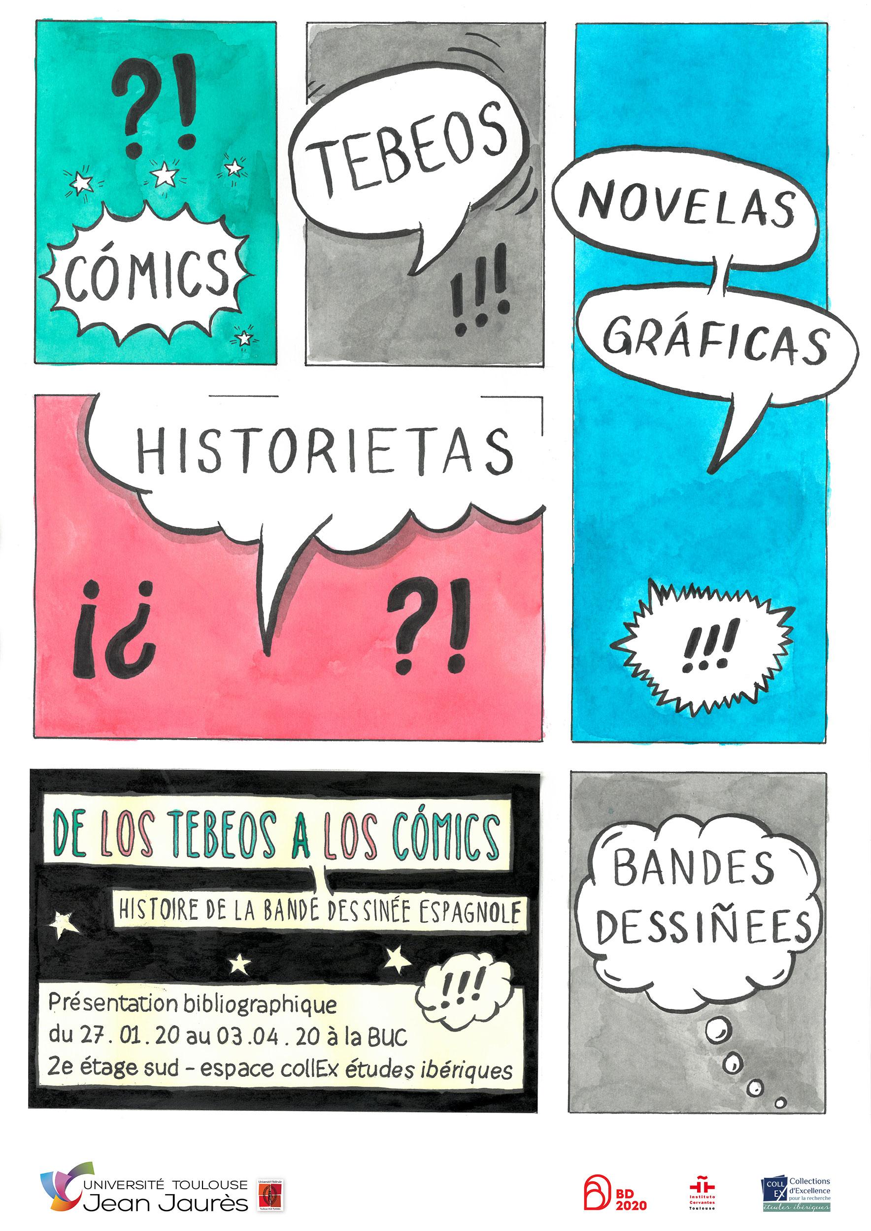Affiche BD espagnole